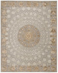 SERENADE SRD03 SILVR RECTANGLE RUG 3'9'' x 5'9'' Product Image