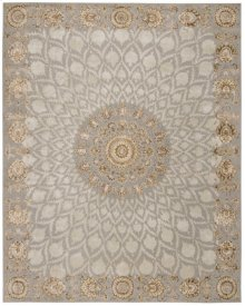 Serenade Srd03 Silvr Rectangle Rug 3'9'' X 5'9''
