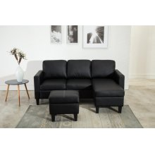SECTIONAL WITH OTTOMAN ( ALL IN 1)