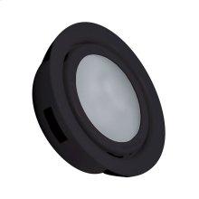 MiniPot Premium (Metal) Xenon, recess mount w / lamp. Frosted lens / Black