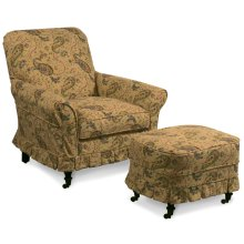 AC22-M Accent Chair AC22-M Ottoman