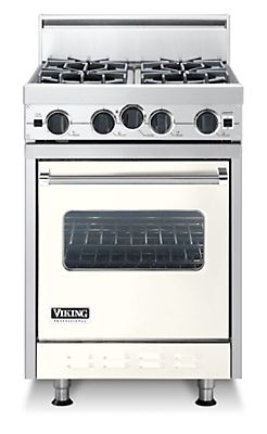 "24"" Classic Open Burner Range, Propane Gas, No Brass Accent"