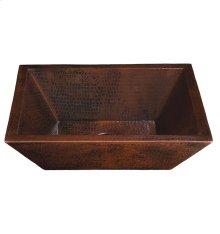 Diego II Black Copper Bath Sink