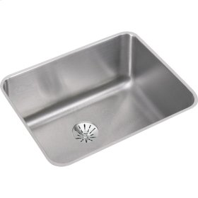 """Elkay Lustertone Classic Stainless Steel 23-1/2"""" x 18-1/4"""" x 10"""", Single Bowl Undermount Sink with Perfect Drain"""