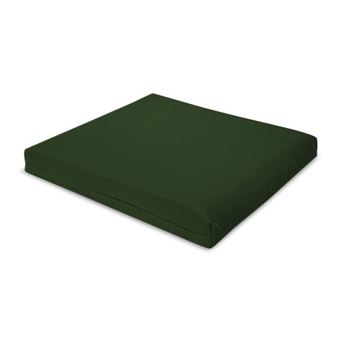"""Forest Green 17.5"""" x 17"""" Seat Cushion"""
