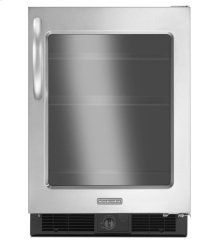 KitchenAid® 5.7 Cu. Ft. 24'' Specialty Refrigerator, Right-Hand Door Swing, Architect® Series II - Stainless Steel