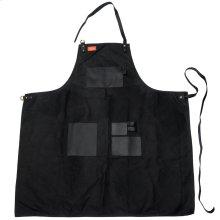 Grilling Apron - Black Canvas & Leather XL