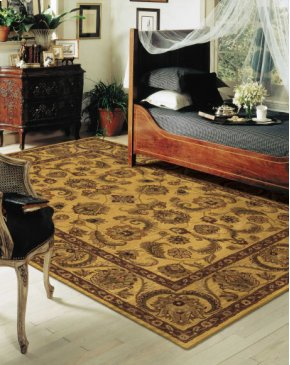 INDIA HOUSE IH19 GLD RECTANGLE RUG 3'6'' x 5'6''