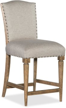 Roslyn County Deconstructed Counter Stool