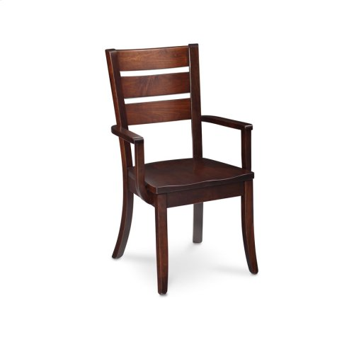 Lakewood Arm Chair, Lakewood Arm Chair, Wood Seat