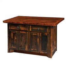 Kitchen Island Artisan Top