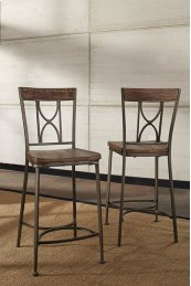 Paddock Non-swivel Counter Height Stool - Set of 2