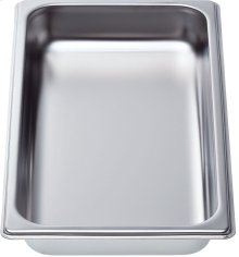 "Cooking pan - half size, 1 5/8"" deep"
