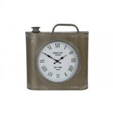 Clock 38x8x40 cm HOME TIME vintage