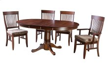 """48"""" Solid Top Pedestal Table"""