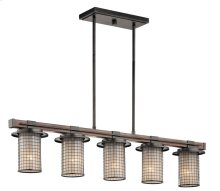 Ahrendale Collection Ahrendale 5 Light Linear Chandelier AVI