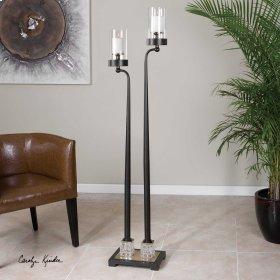 Rondure, Floor Candleholder