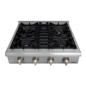 Thor30 Inch Professional Gas Rangetop In Stainless Steel
