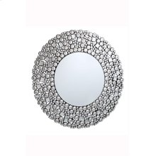 Modern 35.5 in. Contemporary Mirror in Clear