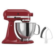 Artisan® Series 5 Quart Tilt-Head Stand Mixer with Flex Edge Beater - Empire Red