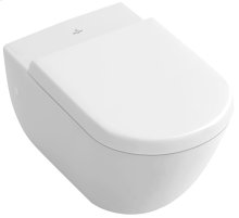 Wall-mounted toilet - White Alpin