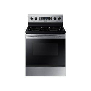 Samsung Appliances5.9 cu. ft. Freestanding Electric Range with Two Dual Power Elements