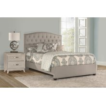 Lila King Bed - Dove Gray