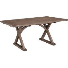 Hempstead Table Solid Top