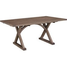 Hempstead Table Solid Top