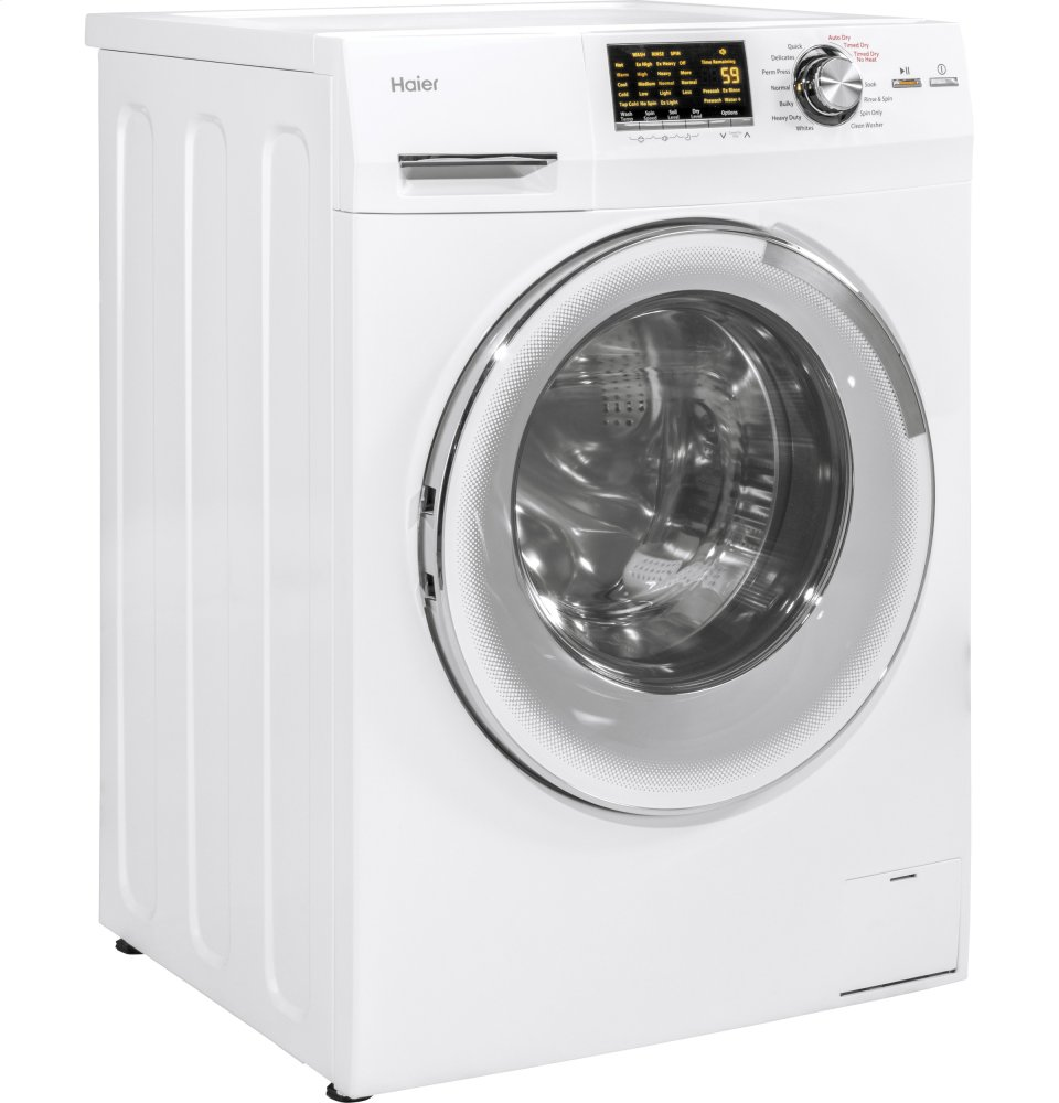 Hlc1700axw Haier Appliance 24 Quot 2 0 Cu Ft Front Load