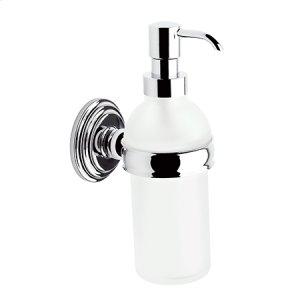 Polished Nickel Soap/Lotion Dispenser