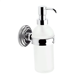 Polished Chrome Soap/Lotion Dispenser