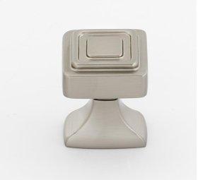 Cube Knob A985-1 - Satin Nickel