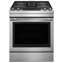 "Jenn-Air® 30"" Dual-Fuel Downdraft Range - Stainless Steel"