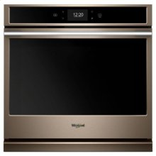 Whirlpool® 5.0 cu. ft. Smart Single Wall Oven with True Convection Cooking - Sunset Bronze
