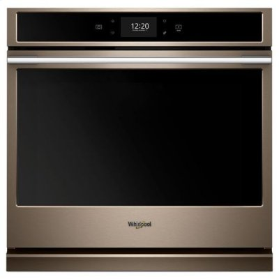 Whirlpool® 5.0 cu. ft. Smart Single Wall Oven with True Convection Cooking - Sunset Bronze Product Image