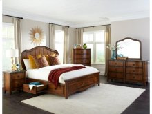 Luciano Bed with Storage