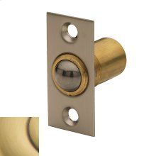 Satin Brass and Brown Adjustable Ball Catch