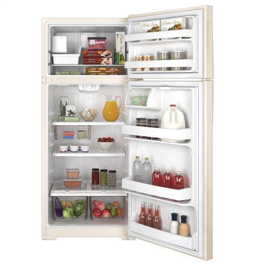 GE® ENERGY STAR® 17.5 Cu. Ft. Top-Freezer Refrigerator