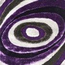 Winnipeg 5' X 7' Gray & Purple Area Rug Product Image