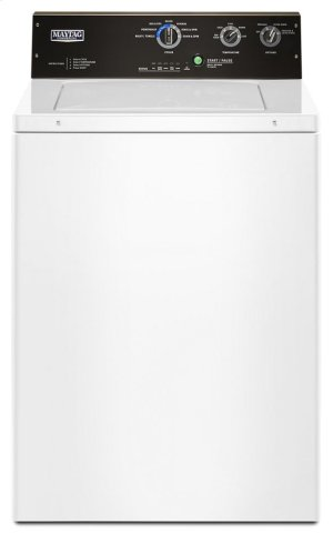 3.5 cu. ft. Commercial-Grade Residential Agitator Washer Product Image