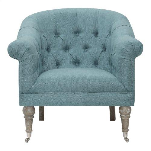 Emerald Home U3822-05-04 Maddy Accent Chair, Blue Lagoon