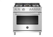 "36"" Master Series range - Gas oven - 5 aluminum burners - LP version"