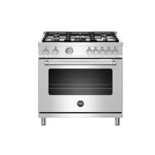 "36"" Master Series range - Gas oven - 5 aluminum burners - LP version"