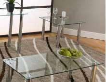 Napoli Rect Cktl Glass Top