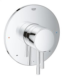 Essence Pressure Balance Valve Shower Diverter Trim