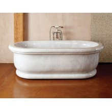 Roman Bathtub Carrara Marble
