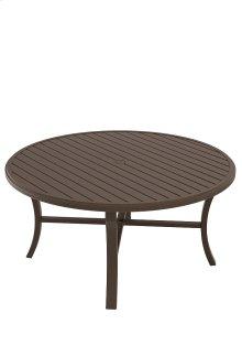 """Banchetto 60"""" Round KD Dining Umbrella Table"""