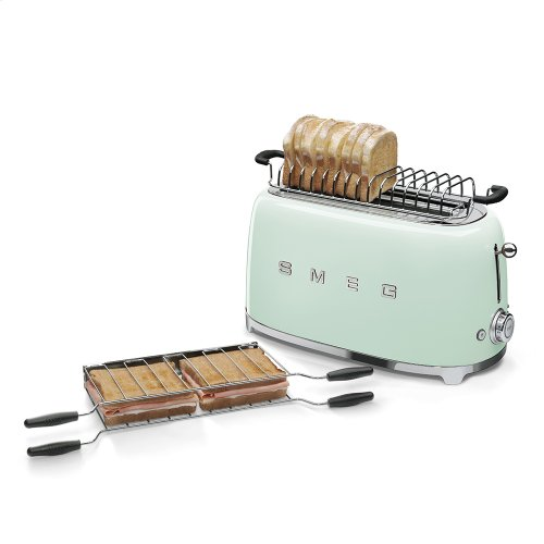 4 Slice Toaster, Pastel green