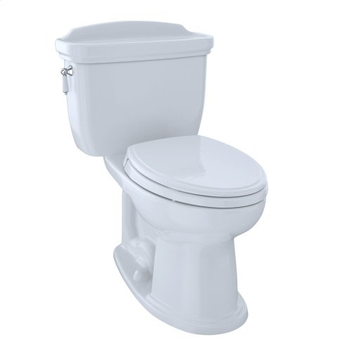 Eco Dartmouth® Two-Piece Toilet, 1.28 GPF, Elongated Bowl - Cotton